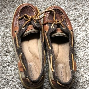 Sperry Top Sider leather loafers. Size 6 1/2